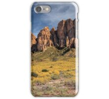 Superstition Mountains Saguaro iPhone Case/Skin