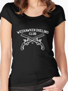 Weehawken Dueling Club Women's Fitted Scoop T-Shirt