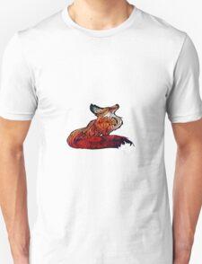 fox space Unisex T-Shirt