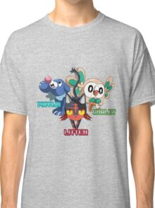 Litten Rowlet and Popplio Classic T-Shirt