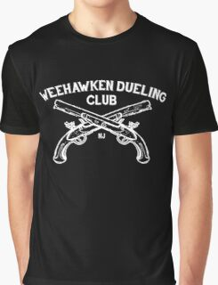 Weehawken Dueling Club Graphic T-Shirt
