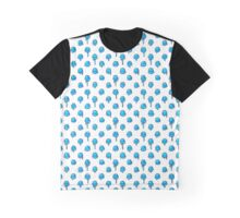 Blue Raspberry Scoops Graphic T-Shirt