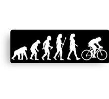 Funny Women's Cycling Shirt Canvas Print