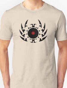 Retro Vinyl Records - Vinyl Tribal Spikes - Cool Vector Music DJ T-Shirt and Stickers Unisex T-Shirt