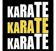 Karate Karate Karate Photographic Print
