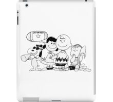 snoopy with family iPad Case/Skin