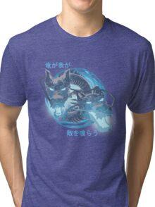 Ryuu ga waga teki wo kurau! Tri-blend T-Shirt