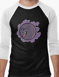 PokéBoo Version 1 Men's Baseball ¾ T-Shirt