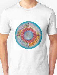 Wheel of Life Unisex T-Shirt