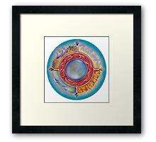 Wheel of Life Framed Print