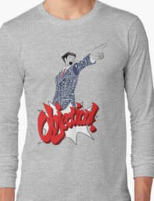 Phoenix Wright Bits! Long Sleeve T-Shirt
