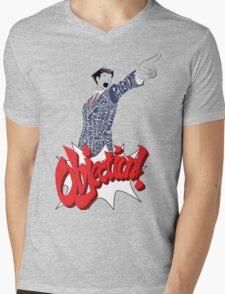 Phoenix Wright Bits! Mens V-Neck T-Shirt