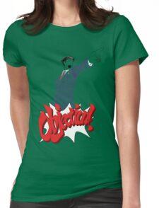 Phoenix Wright Bits! Womens Fitted T-Shirt