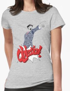 Phoenix Wright Bits! Womens Fitted T-Shirt