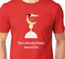 Elvis Fish Unisex T-Shirt