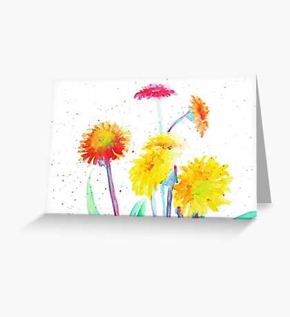 Gerbera dream Greeting Card