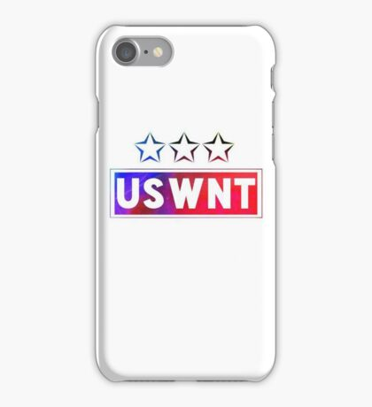 USWNT - 3 Stars (Color) iPhone Case/Skin