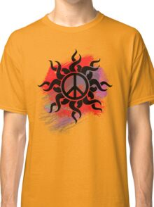 Cool Peace Sign with Paint - T Shirts Art Prints and Stickers Classic T-Shirt