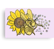 Honey Bee - Willow Canvas Print