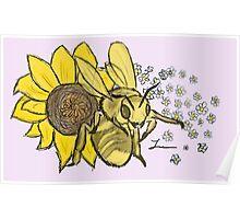 Honey Bee - Willow Poster
