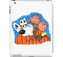 1snoopy and charlie brown iPad Case/Skin