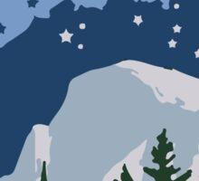Yosemite National Park. Sticker