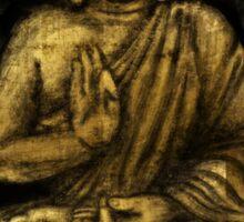 Zen Gold, Buddha 1 Sticker