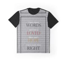 Word Graphic T-Shirt