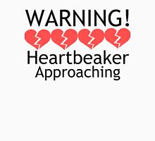WARNING! Heartbreaker Approaching Women's Fitted Scoop T-Shirt