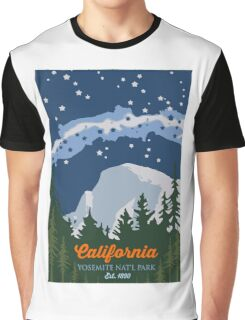 Yosemite National Park. Graphic T-Shirt