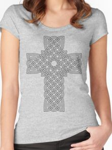TCS3C Celtic Cross Women's Fitted Scoop T-Shirt