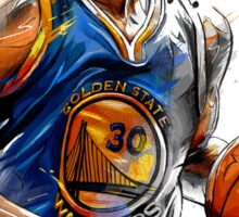 Stephen Curry | MVP | BasketBall Sticker