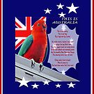 This Is Australia iPad Case by judygal