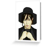 SNSD Tiffany Fanart Greeting Card