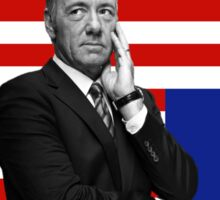 House of Cards- Frank Underwood Sticker