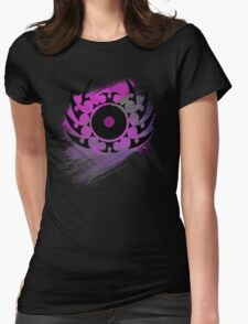 Retro Vinyl Records - Vinyl With Paint and Tribal Spikes - Music DJ TShirt T-Shirt