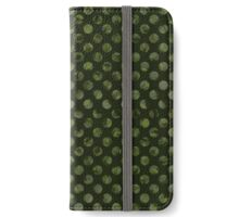Green Dots iPhone Wallet/Case/Skin