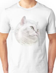 Silver Cat, Look Forward Unisex T-Shirt