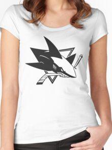 San Jose Sharks Women's Fitted Scoop T-Shirt