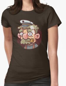 Captain Womens Fitted T-Shirt