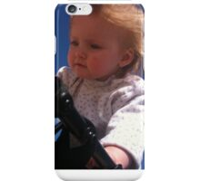Baby in blue sky iPhone Case/Skin