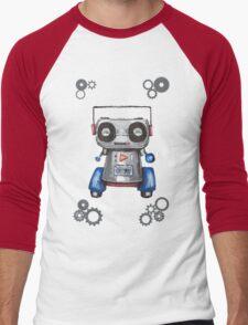 Robot Boomer Men's Baseball ¾ T-Shirt