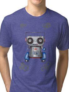 Robot Boomer Tri-blend T-Shirt