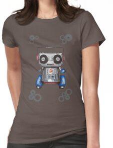 Robot Boomer Womens Fitted T-Shirt
