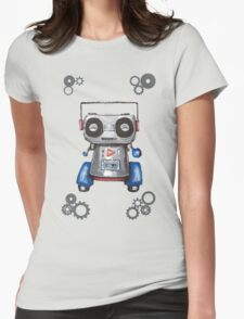 Robot Boomer Womens Fitted T-Shirt