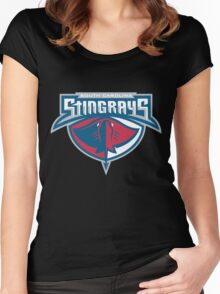 South Carolina Stingrays Roster Women's Fitted Scoop T-Shirt