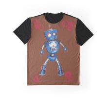 Robot Gauge Graphic T-Shirt