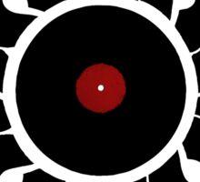 Retro Vinyl Records - Vinyl Sunrise - Modern Cool Vector Music T-Shirt DJ Design Sticker