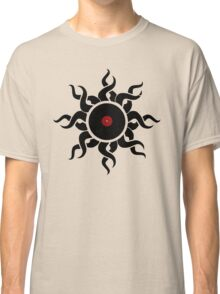 Retro Vinyl Records - Vinyl Sunrise - Modern Cool Vector Music T-Shirt DJ Design Classic T-Shirt