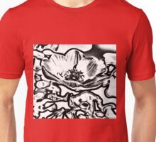 Red Poppy Gone Bad Unisex T-Shirt